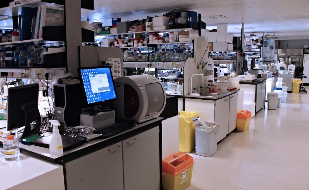 The Huntington Laboratory at the University of Cambridge.